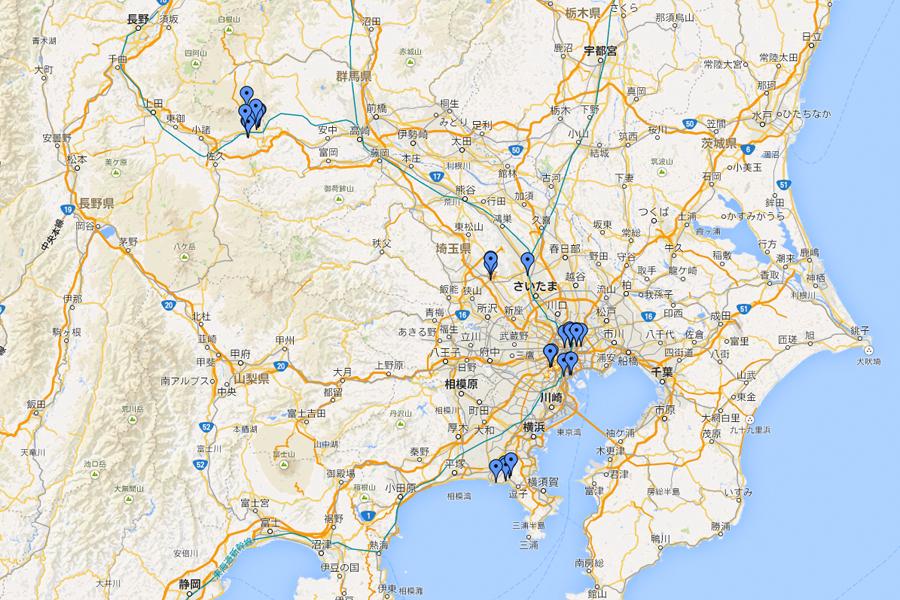 新東京之旅其九-Google Map