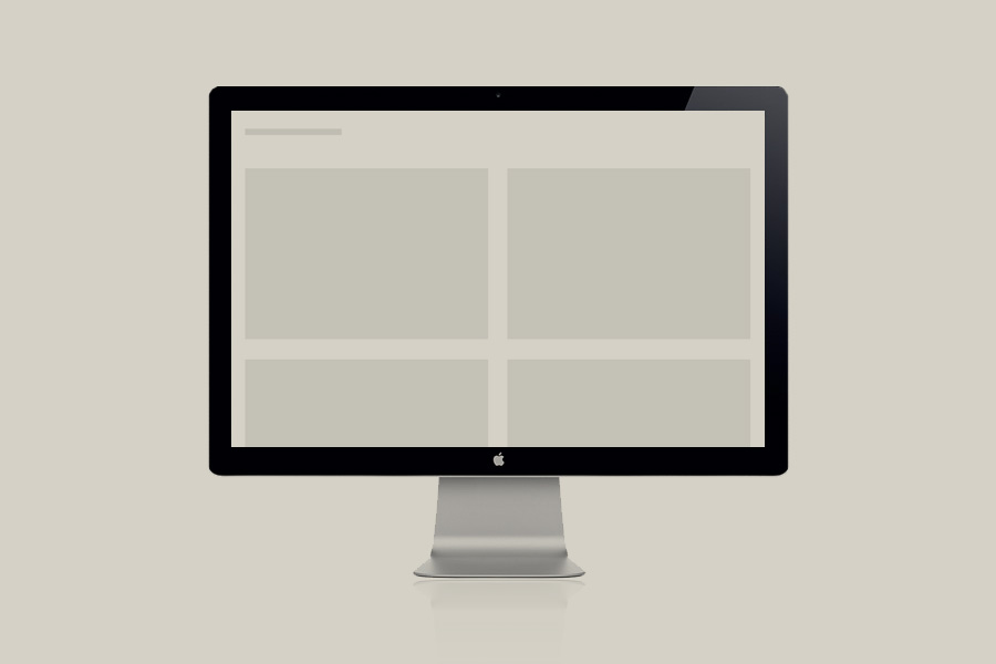 一種純粹 – 關於網站第五版本的思考