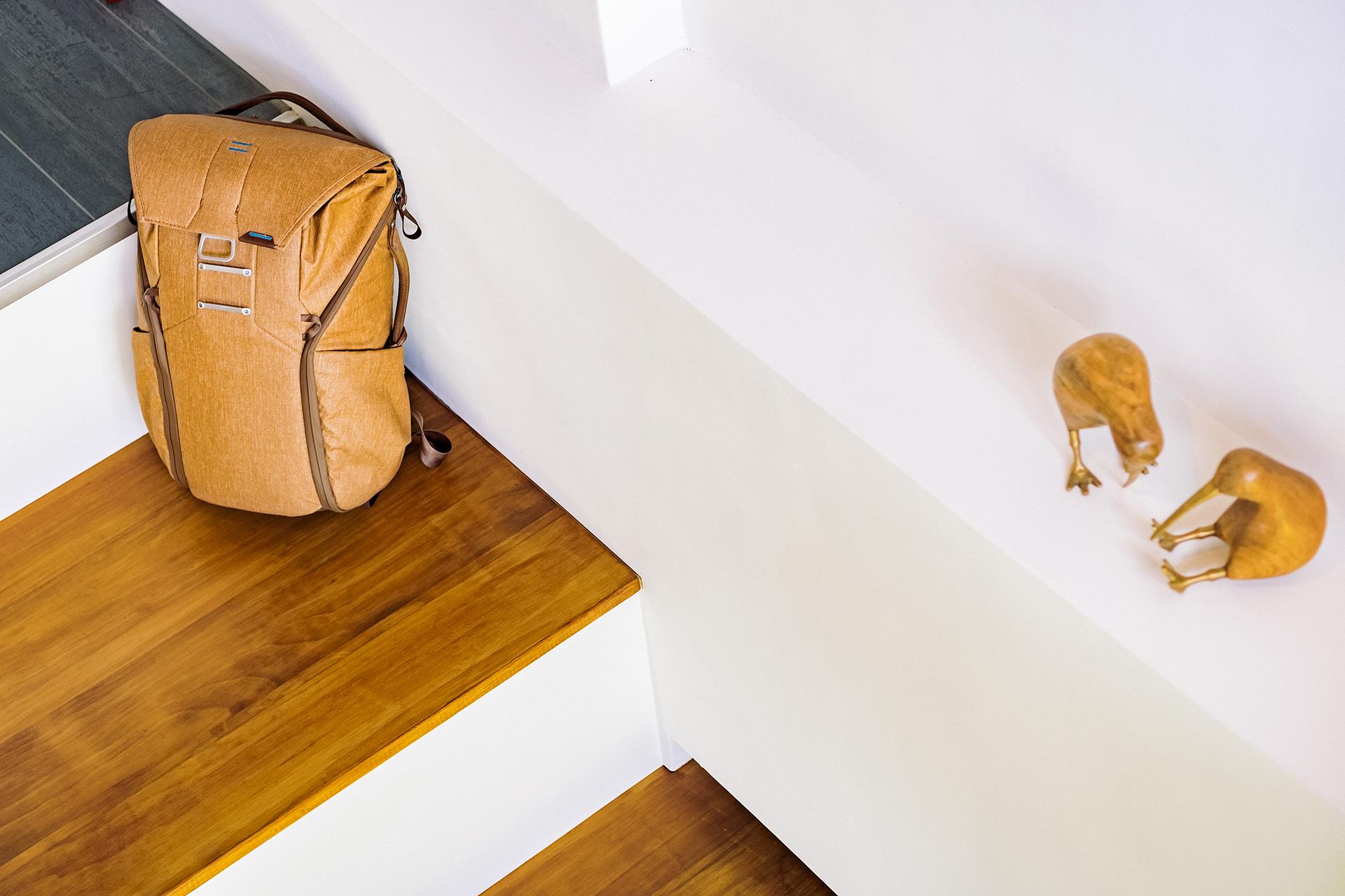 peak design everyday backpack 20L tan color