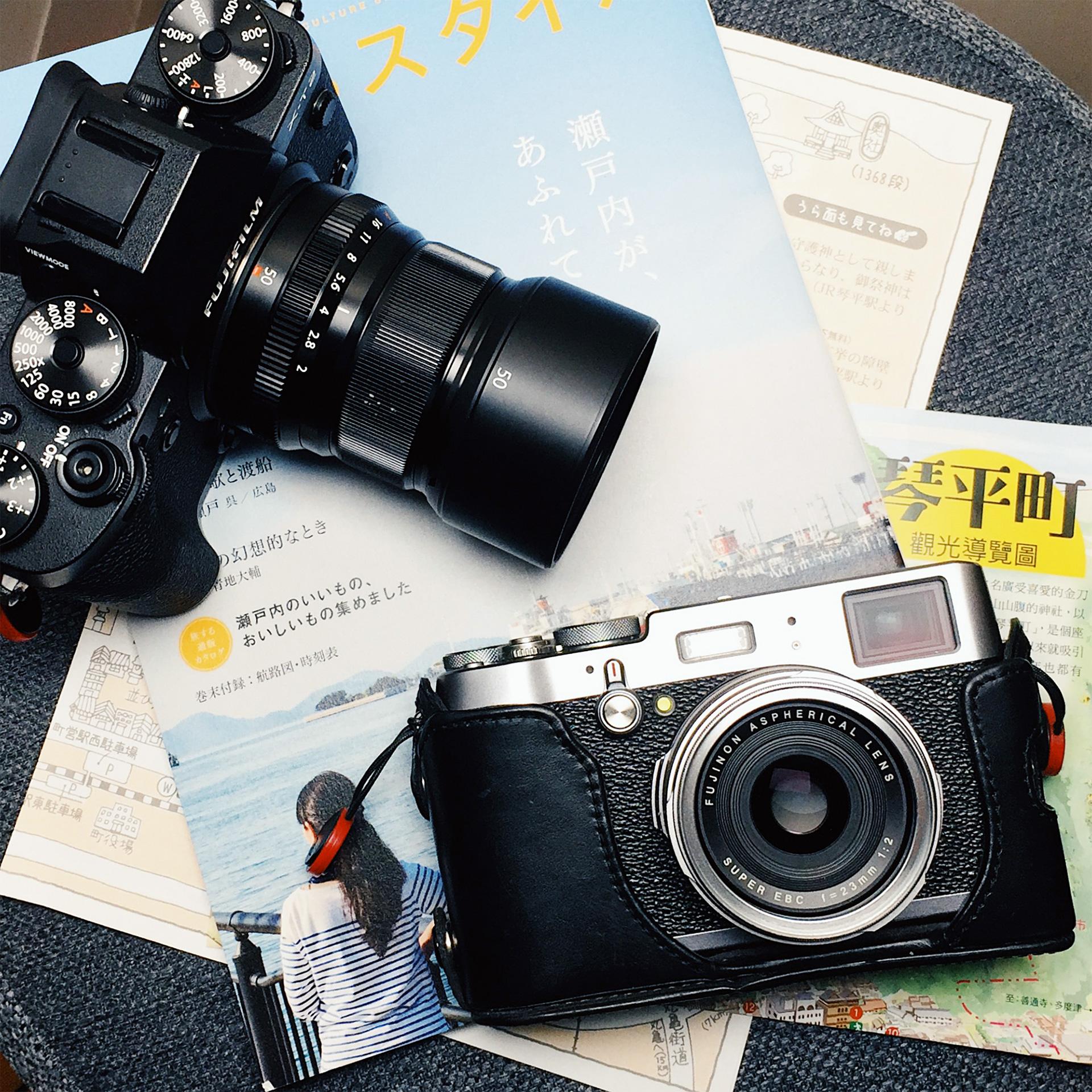 瀨戶內海紀行的旅行紀錄設備
