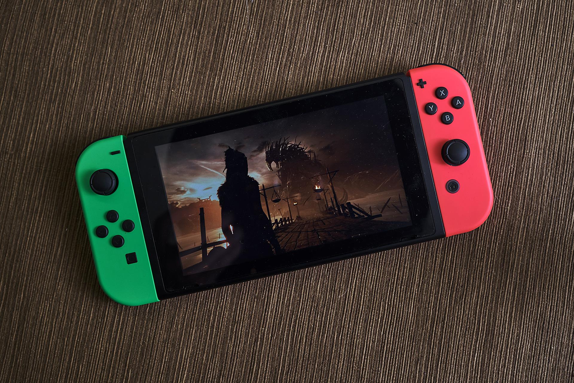 Hellblade Nintendo switch 版本的冥界冒險之旅